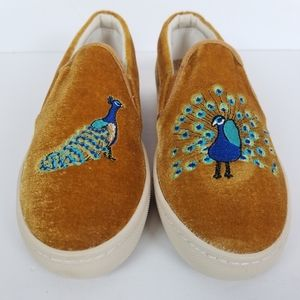 Soludos Shoes   Velvet Peacock Sneakers